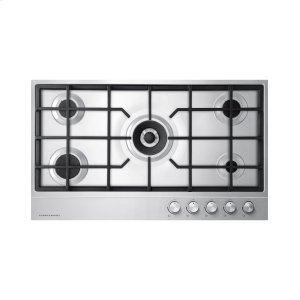 Fisher & PaykelGas on Steel Cooktop, 36""