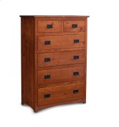 San Miguel 6-Drawer Chest, Character QSWO