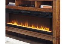 Wide Fireplace Insert