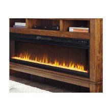 Wide Fireplace Insert