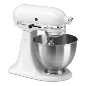 KitchenAid® Ultra Power® Series 4.5-Quart Tilt-Head Stand Mixer - White
