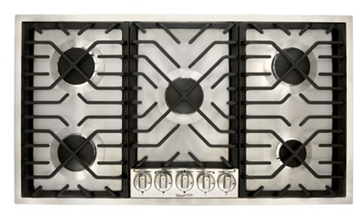 "36"" Gas Dropin Cooktop, featuring Culinary™ Burners"