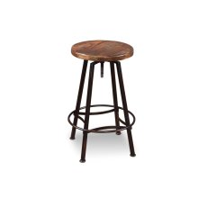 HH-8014  Adjustable Counter Height Swivel Barstool