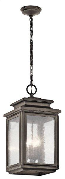 Wiscombe Park 4 Light Pendant Olde Bronze®