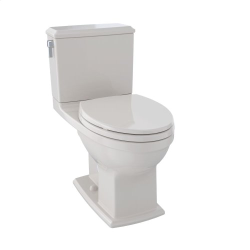 Connelly® Two-Piece Toilet 1.28 GPF & 0.9 GPF, Elongated Bowl - Sedona Beige