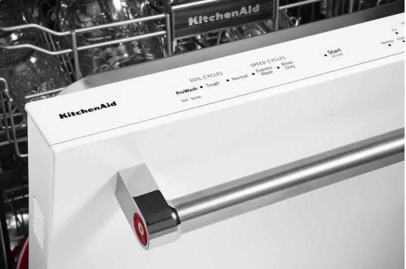 Hidden Additional 46 Dba Dishwasher With Third Level Rack White