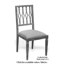 Side Chair Frame, Leather