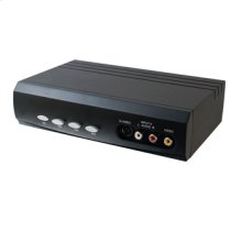 4x2 S-Video + Composite Video + Stereo Audio Selector Switch
