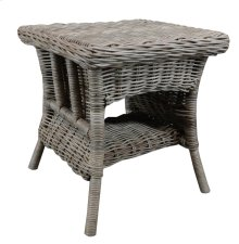 Lamp Table, Available in Rustic Grey Finish Only.