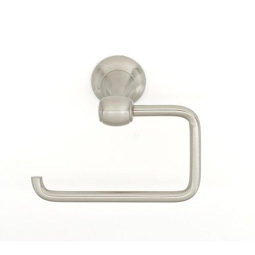 Royale Single Post Tissue Holder A6666 - Satin Nickel