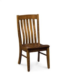 Bradford Side Chair, Wood Seat, Soft Maple #02 Hazelnut