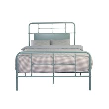 Emerald Home Fairfield Metal Bed Eucalyptus Green B202-09hbfbrgrn