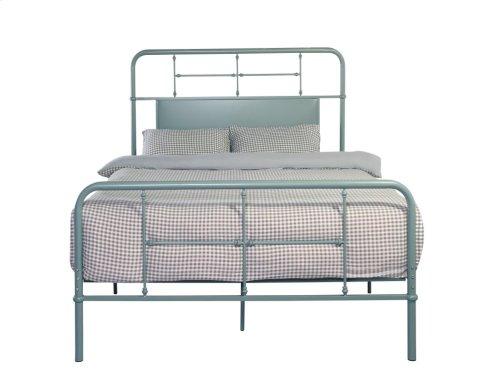 Emerald Home Fairfield Metal Bed Eucalyptus Green B202-12hbfbrgrn