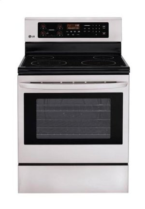 6.3 cu. ft. Capacity Electric Single Oven Range with 4 Cooktop Elements