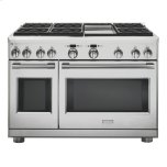 "GE MonogramMonogram 48"" All Gas Professional Range with 6 Burners and Griddle (Natural Gas)"
