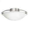 2 Bulb Semi Flush Ceiling Light NI