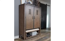 Sawyers Mill Locker Door Chest & Bench