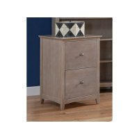 File Cabinet in Taupe Gray Product Image