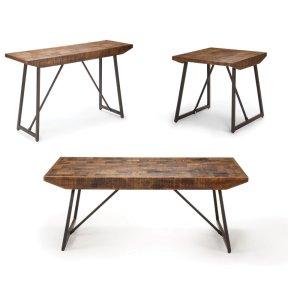 """Steve Silver Co.Walden PARQUET COCKTAIL Table 48""""x 28""""x 19.5"""""""