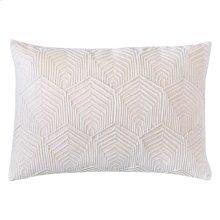 Sloan Velvet Pillow, OYSTER, 14X20