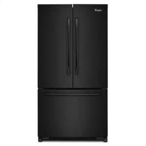 36-inch Wide French Door Refrigerator with Frameless Glass Shelves - 25 cu. ft. - BLACK