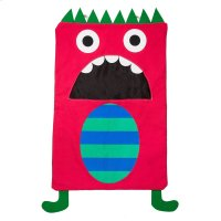 Red Monster Laundry Bag. Product Image