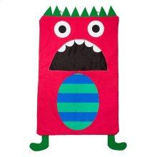 Red Monster Laundry Bag.