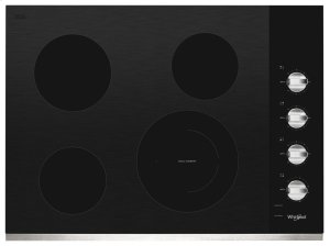30-inch Electric Ceramic Glass Cooktop with Dual Radiant Element Product Image