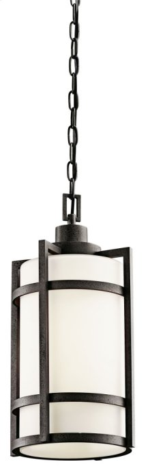 Camden 1 Light Pendant Anvil Iron