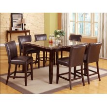 Crown Mark 2721 Ferrara Counter Height Dining Group