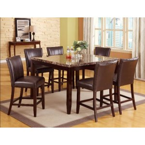 Crown Mark 2721 Ferrara Counter Height Dining Group