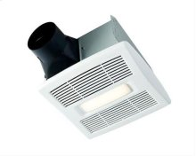 "InVent "" Series Single-Speed Fan With LED Light 80 CFM 0.8 Sones ENERGY STAR Certified"