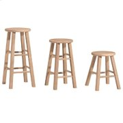Round Top Stool Product Image