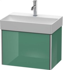 Vanity Unit Wall-mounted Compact, For Durasquare # 235660jade High Gloss Lacquer