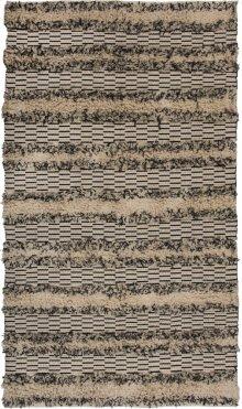 9'x12' Size Fringe Stripe Rug
