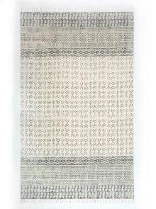 8'x10' Size Flatweave Faded Stripe Rug