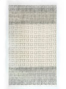 8'x10' Size Flatweave Faded Stripe Rug