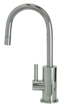 Francis Anthony Collection - Hot Water Faucet with Contemporary Round Body & Handle - Polished Chrome
