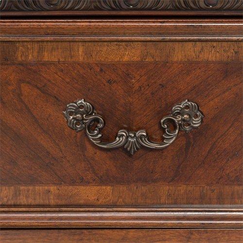 Queen Sleigh Bed, Dresser & Mirror, Chest