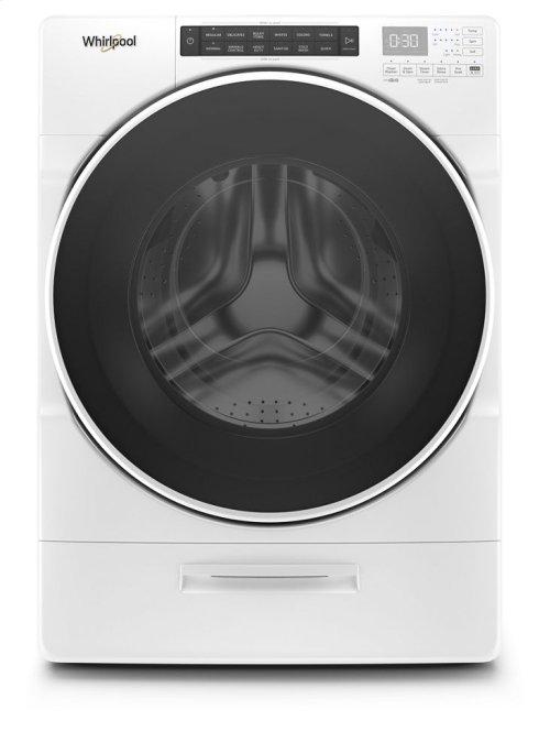 5.2 cu. ft. I.E.C. Closet-Depth Front Load Washer with Load & Go XL Dispenser