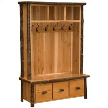 Entry Locker Unit - Natural Hickory