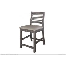 """Ladder Backrest 24"""" Barstool"""