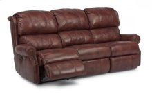 Comfort Zone Leather or Fabric Power Reclining Sofa