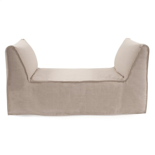 Pod Bench Linen Slub Natural