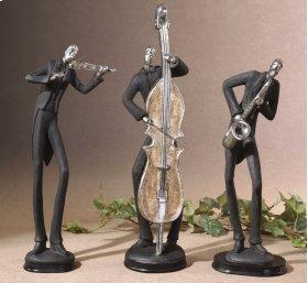 Musicians, Figurines, S/3