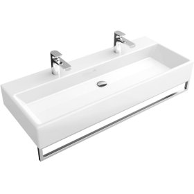 "Washbasin 39"" Angular - White Alpin CeramicPlus"