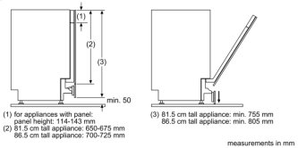 Retractable hinge f. high corpus dimens. SMZ5003 00648174