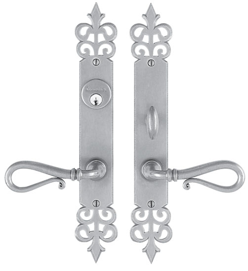 Entrance Lever Set for interior or exterior door - Trim set without mechanism