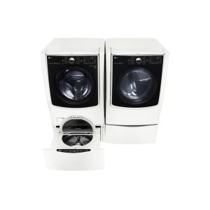 LG Appliances5.5 Total Capacity LG TWINWash™ Bundle with LG SideKick™ and Electric Dryer