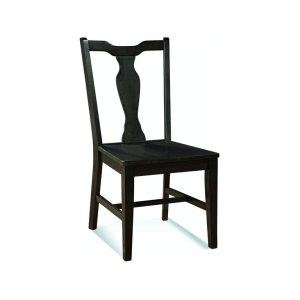 JOHN THOMAS FURNITURESplatback Chair in Black Pearl